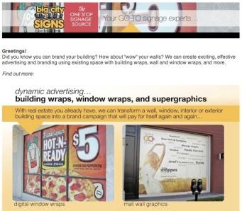 WALL WRAPS, WINDOW WRAPS, BUILDING WRAPS