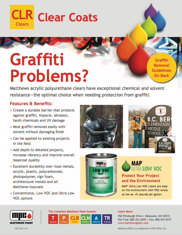 We can provide solutions for graffiti problems…